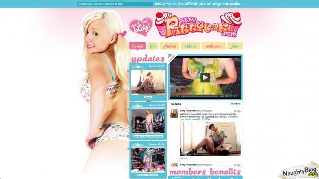SexyPattycake.com - SITERIP