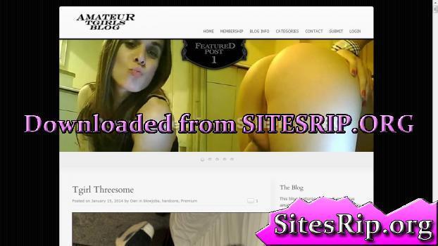 AmateurTgirlsBlog – SITERIP