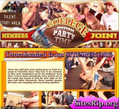 CollegePartyTime SiteRip