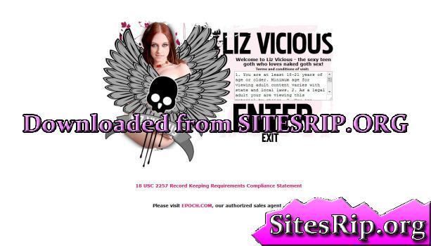 LizVicious – SITERIP