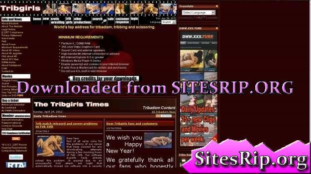 TribGirls SiteRip