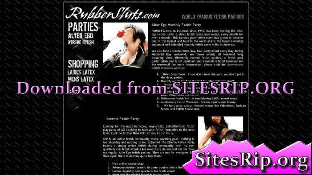 RubberSluts – SITERIP