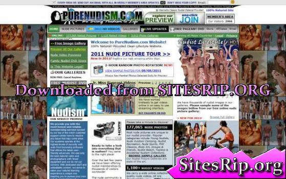 PureNudism SiteRip