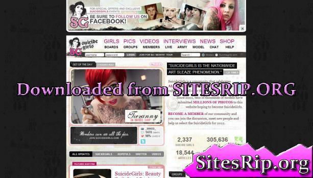 SuicideGirls – SITERIP