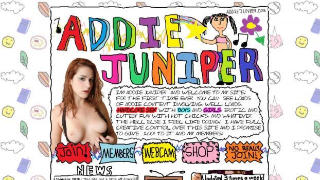AddieJuniper - SiteRip