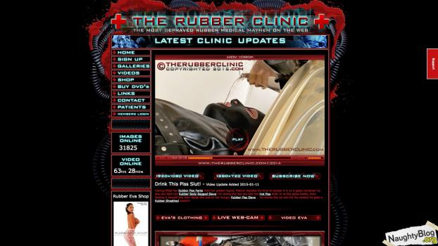 TheRubberClinic.com - SITERIP
