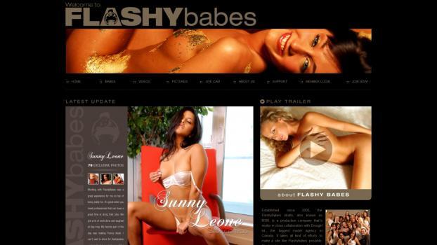 FlashyBabes - SiteRip