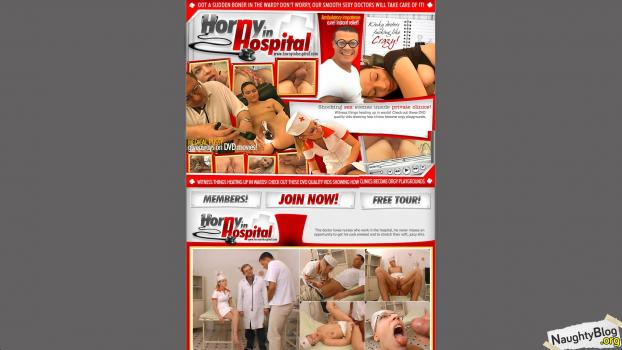 HornyInHospital.com - SITERIP