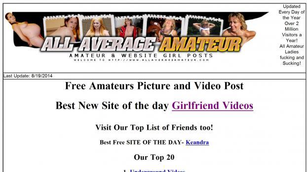 AllAverageAmateur - SiteRip