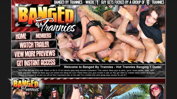 BangedByTrannies – SiteRip