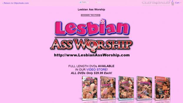 LesbianAssWorship - SiteRip